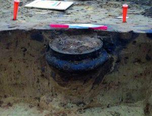 Grondwerkzaamheden Archeologie Archeologisch Wereldoorlog Explosieven Granaat ww2