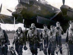 ww2 Vliegtuigwrak Neergestort Wereldoorlog Luchtmacht Bommenwerper