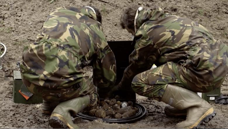 Explosieven Granaat Wereldoorlog ww2 Berging Gemeente