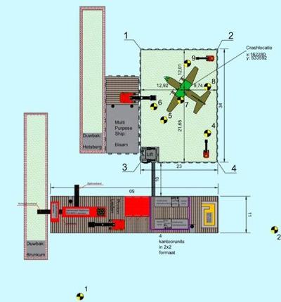 Bergingswerkzaamheden: Vliegtuigberging Vickers Wellington  IJsselmeer