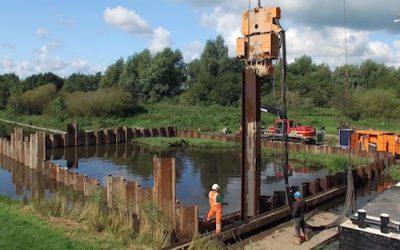It Fryske Gea, 9 juni 2017 – Berging Lancaster R5682 op de Ald Dwinger