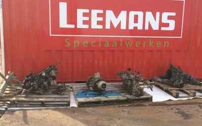 Leeuwarder Courant,  28 juli 2017 – Vliegtuigwrak bij Warten lijkt bijna compleet bewaard