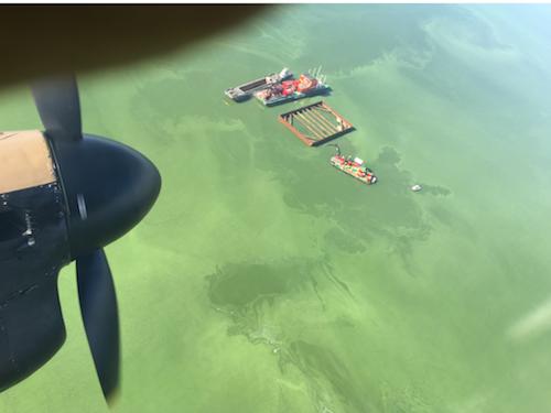 Lemernijs, June 17, 2016 – Berging vliegtuigwrak uit WOII in het IJsselmeer